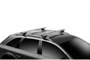 Упоры Thule Evo Raised Rail для автомобилей с рейлингами - изображение 8