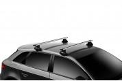 Упоры Thule Evo Clamp для автомобилей с гладкой крышей - изображение 8