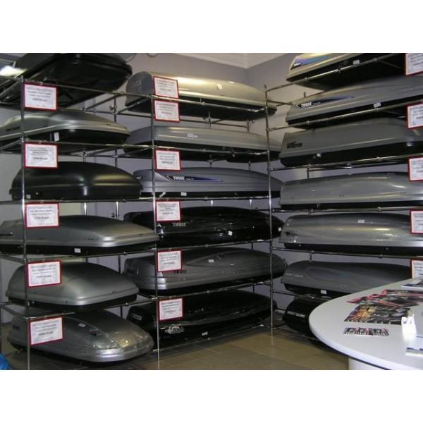 Хранение автобокса и багажника