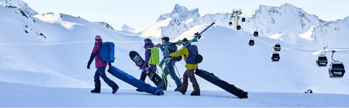 Чехлы для лыж