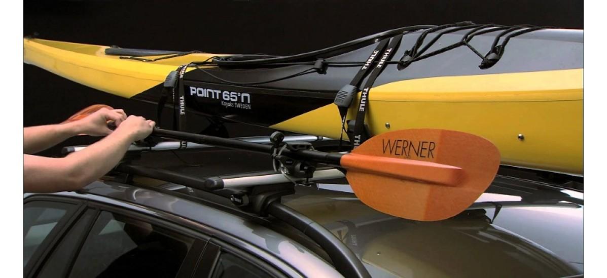 Багажники для перевозки лодки